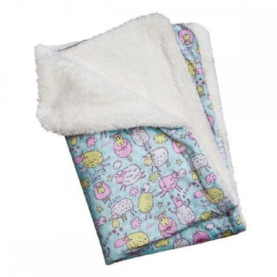 Funny Sheep Flannel/Ultra-Plush Blanket - Posh Pet Glamour Boutique