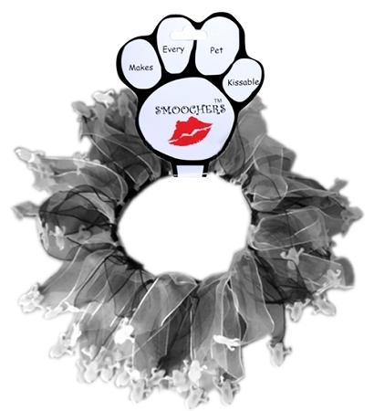Ghost Halloween Smoocher Party Collar - Posh Pet Glamour Boutique