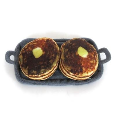 Griddle with Pancakes Catnip Cat Toy - Posh Pet Glamour Boutique