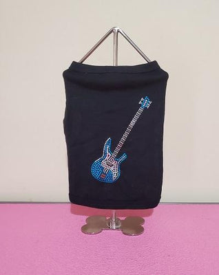 Guitar Studded Dog Tank - Posh Pet Glamour Boutique