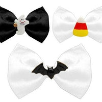 Halloween Chipper Bow Ties - Posh Pet Glamour Boutique