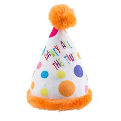 Happy Birthday Party Hat Toy - Posh Pet Glamour Boutique