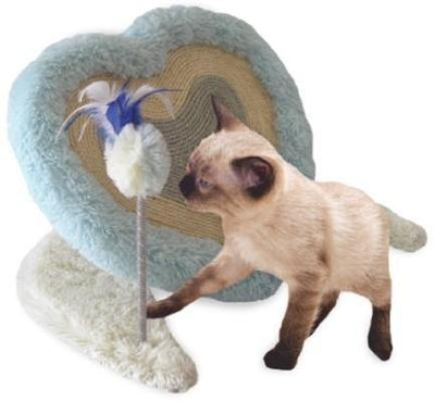 Heart Shaped Cat Scratcher - Posh Pet Glamour Boutique