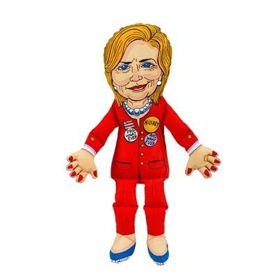 Hillary Dog Presidential Parody Toy - Posh Pet Glamour Boutique