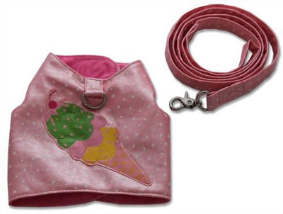 Ice Cream Harness - Posh Pet Glamour Boutique