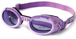 ILS Doggles- Lilac with Flowers - Posh Pet Glamour Boutique