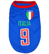 Italia World Cup Soccer Tank - Posh Pet Glamour Boutique
