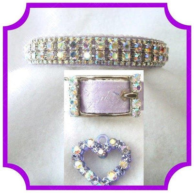 Lavender Lights Collar - Posh Pet Glamour Boutique