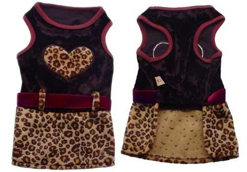 Leopard Print Dress - Posh Pet Glamour Boutique