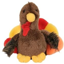 Look Whos Talking Tyler Turkey Toy - Posh Pet Glamour Boutique