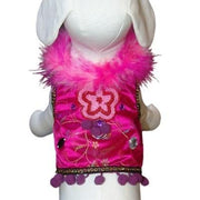 Mardi Gras Harness Vest - Posh Pet Glamour Boutique