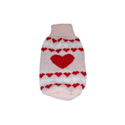 Multi Heart Sweater - Posh Pet Glamour Boutique