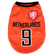 Netherlands World Cup Soccer Tank - Posh Pet Glamour Boutique