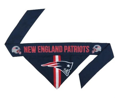 NFL Bandana - Patriots - Posh Pet Glamour Boutique