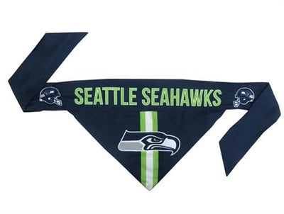 NFL Bandana - Seahawks - Posh Pet Glamour Boutique