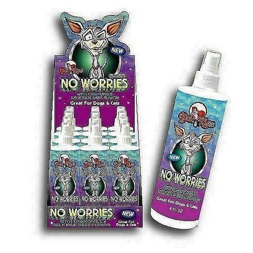 No Worries Calming Spray - Posh Pet Glamour Boutique