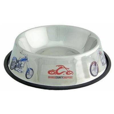 OCC Stainless Steel Feeding Bowl - Posh Pet Glamour Boutique