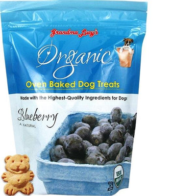 Organic Baked Blueberry Treats - Posh Pet Glamour Boutique