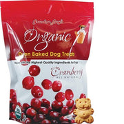 Organic Baked Cranberry Treats - Posh Pet Glamour Boutique
