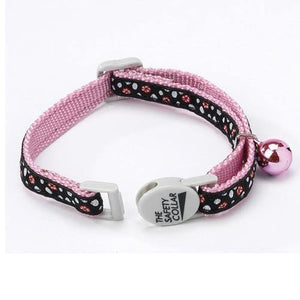 Parisian Polka Dot Cat Collar - Posh Pet Glamour Boutique