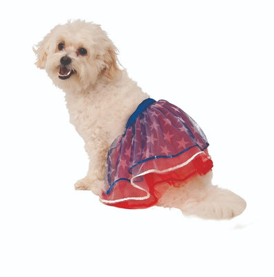 Patriotic Tutu - Posh Pet Glamour Boutique