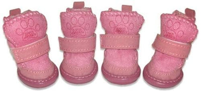 Pawgglys Boots- Pink - Posh Pet Glamour Boutique
