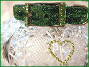 Peridot Sparkler Collar - Posh Pet Glamour Boutique