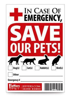 Pet Rescue Sticker - Posh Pet Glamour Boutique