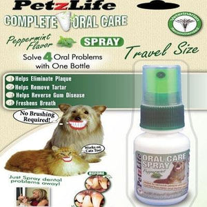 PetzLife Oral Care Travel Spray - Posh Pet Glamour Boutique