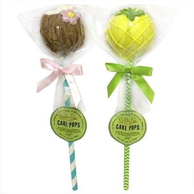 Pina Colada Cake Pops - Posh Pet Glamour Boutique