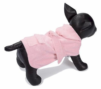 Pink Spa and Bath Robe - Posh Pet Glamour Boutique