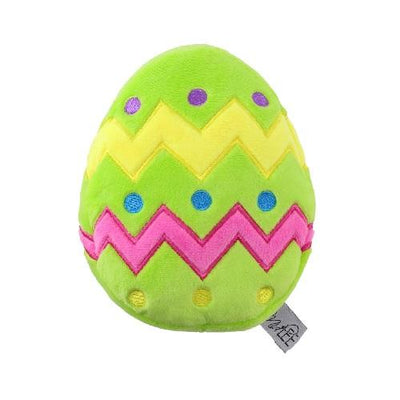Plush Easter Egg Toy - Posh Pet Glamour Boutique
