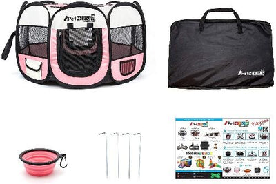 Portable Pet Playpen - Posh Pet Glamour Boutique