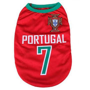 Portugal World Cup Soccer Tank - Posh Pet Glamour Boutique