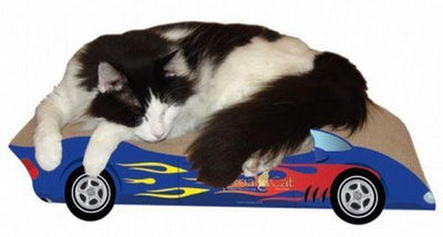 Racing Car Cat Scratcher - Posh Pet Glamour Boutique