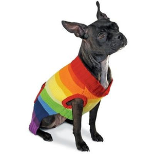 Rainbow Sweater - Posh Pet Glamour Boutique