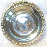 Rhinestone Food Water Dish - Posh Pet Glamour Boutique