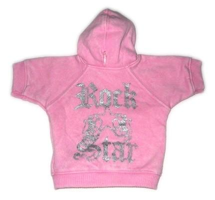 Rock Star Hoodie - Posh Pet Glamour Boutique