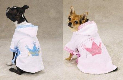 Royalty Bathrobe - Posh Pet Glamour Boutique
