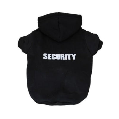 Security Hoodie - Posh Pet Glamour Boutique