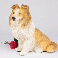 Sheltie Urn - Posh Pet Glamour Boutique