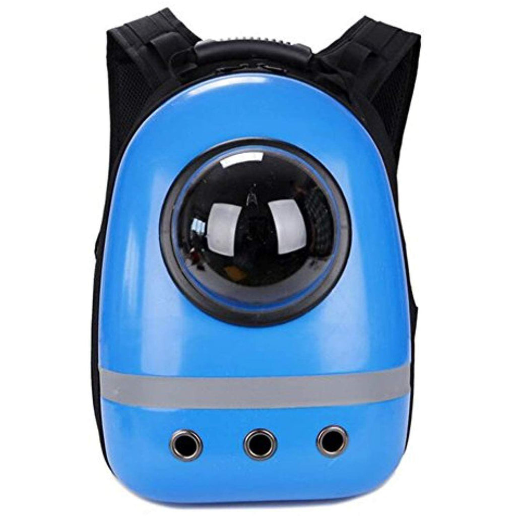 Space Pet Carrier Backpack-Blue - Posh Pet Glamour Boutique