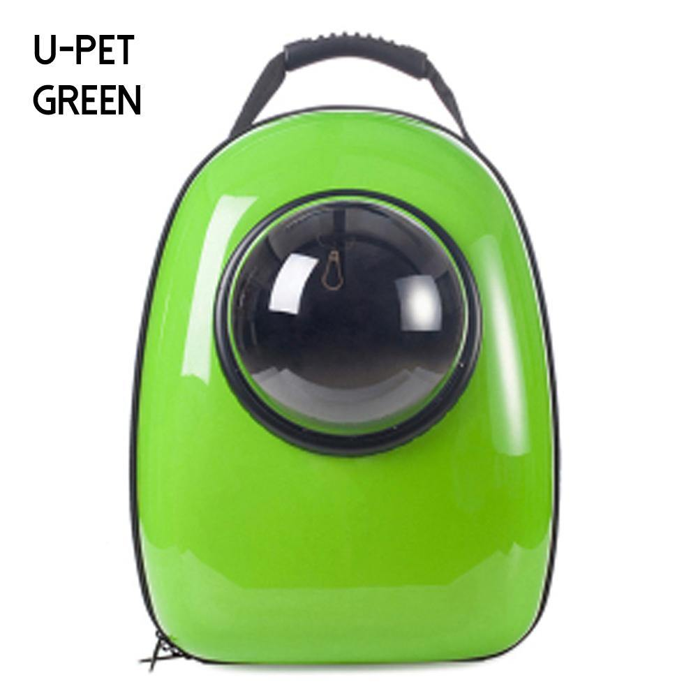 Space Pet Carrier Backpack-Lime Green - Posh Pet Glamour Boutique