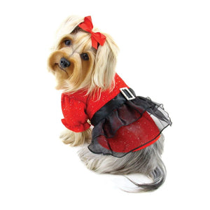 Sparkling Red Dress - Posh Pet Glamour Boutique