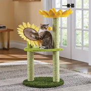 Sunflower Cat Tree - Posh Pet Glamour Boutique
