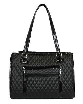 The Payton Black Quilted - Posh Pet Glamour Boutique