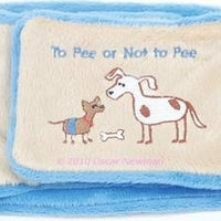 To Pee or Not to Pee Belly Band - Posh Pet Glamour Boutique