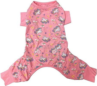 Unicorn Pajamas - Pink - Posh Pet Glamour Boutique