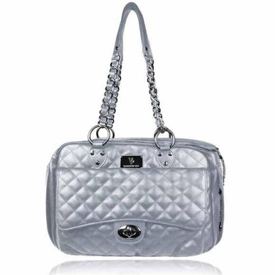 Vanderpump Quilted Classic Luxury Carrier - Posh Pet Glamour Boutique