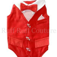 Winter Wonderland Vest - Posh Pet Glamour Boutique